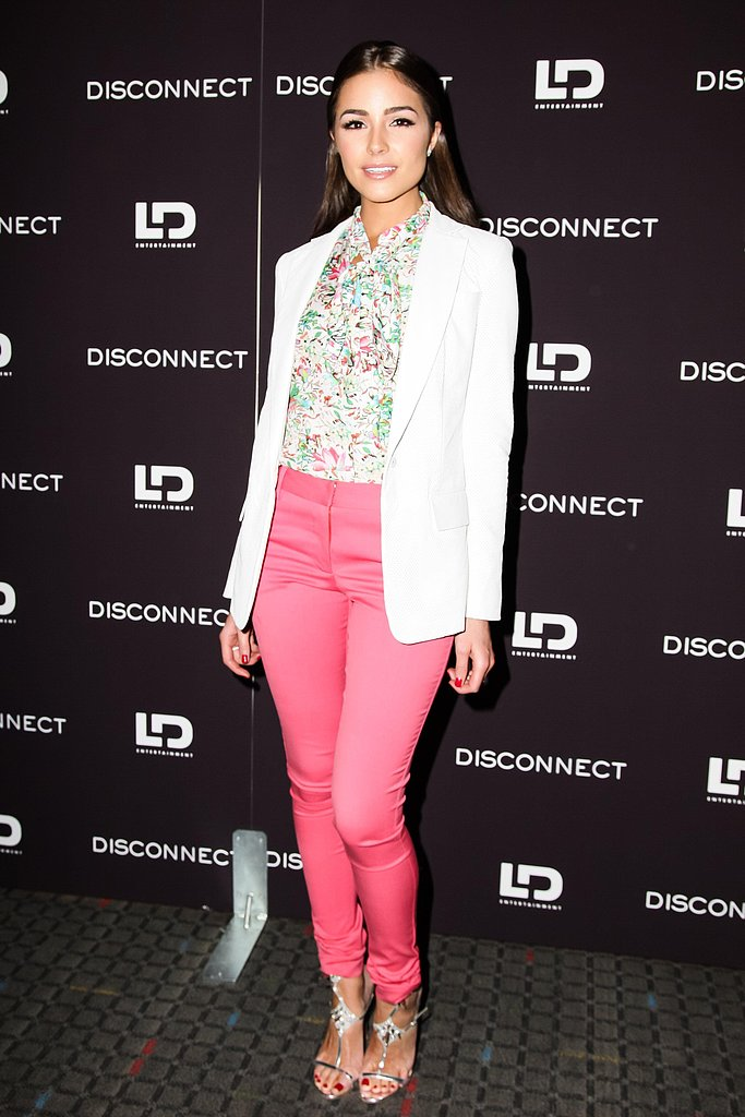 Olivia Culpo at the Disconnect screening in New York. Photo: Matteo Prandoni/BFAnyc.com