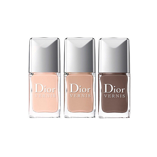 The Dior Vernis Nude Collection ($24 each) features three creamy shades for a sophisticated feel.