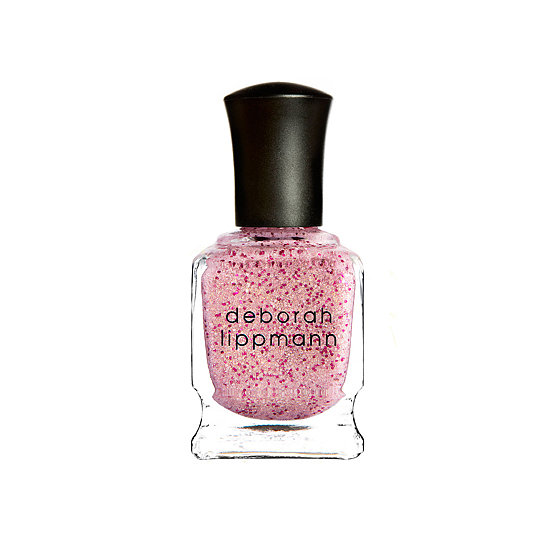 If pale pink is your go-to polish pick, then why not go for something a little more fun, like the sparkly Mermaid's Kiss shade from Deborah Lippmann ($19)?
