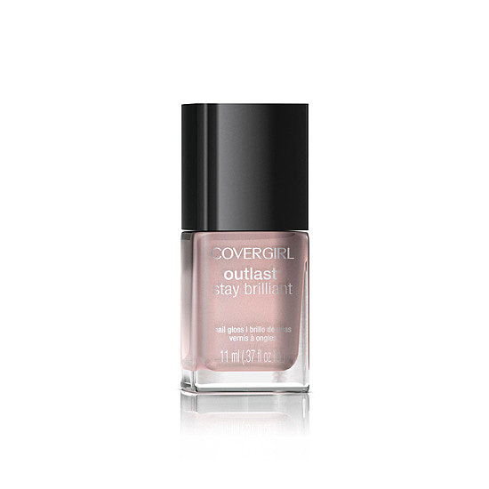 Simply put, CoverGirl's Stay Brilliant Nail Gloss in Perma-Pink ($5) is the perfect nude pink.