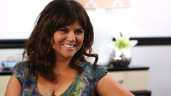 Tiffani Thiessen Shares Her Top Party-Planning Tips and Talks White Collar's Cliff-Hanger