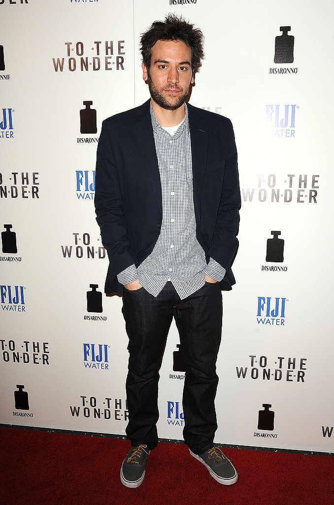 Josh Radnor kept it casual on the red carpet.