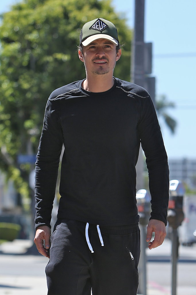 Orlando Bloom was out in LA solo on Wednesday.