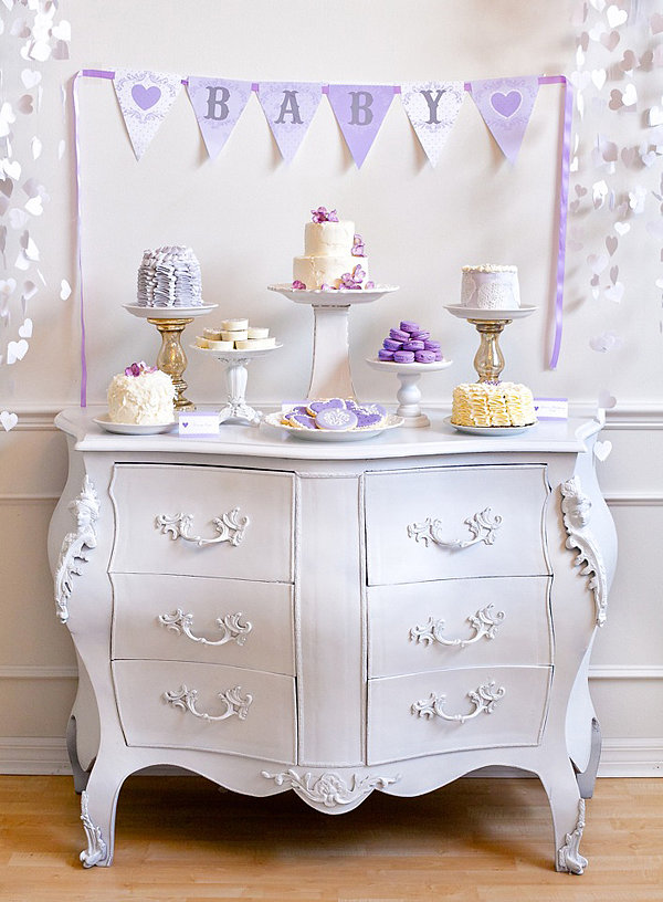 "Lavendar ""Baby Love"" Shower"