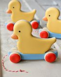 Vintage Duck Toy Cookies