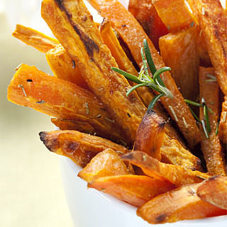 Recipe For Sweet Potato and Rosemary Fries