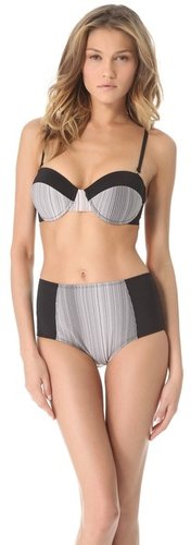L*space Honeycomb Demi Bikini Top