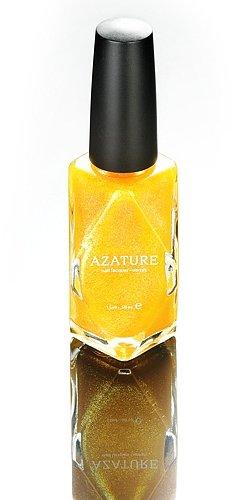 Azature - Black Diamond Nail Polish - Yellow