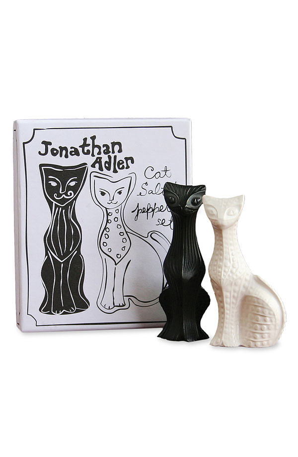 Cat Salt and Pepper Shakers ($48)
