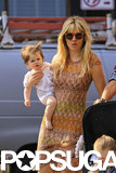Sienna Miller gave birth to her little girl with Tom Sturridge, Marlowe, in July 2012.