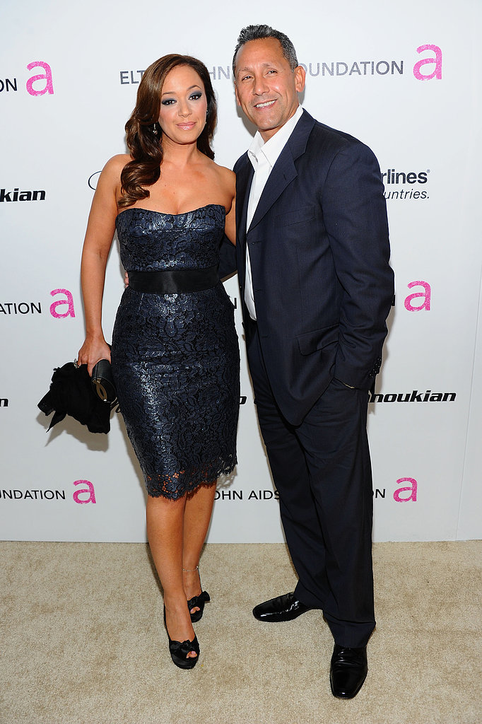 Leah Remini and Angelo Pagan