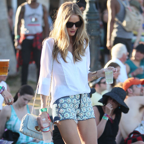 Celebrity Style at Coachella 2012