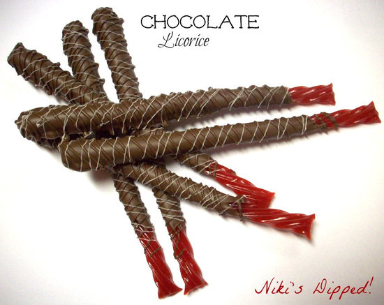 Chocolate-Covered Licorice