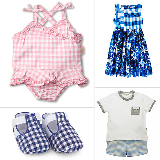 10 Great Gingham Finds For Tots to Wear All Season Long