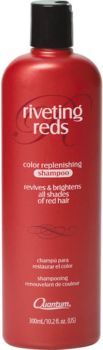 Quantum Riveting Reds Color Replenishing Shampoo 10 oz.
