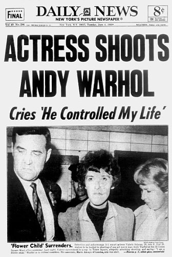 Andy Warhol Shot