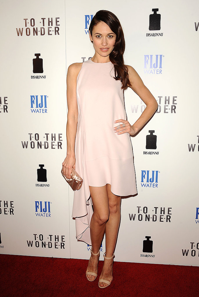 Olga Kurylenko wore Spring 2013 Christian Dior at the To the Wonder premiere in West Hollywood.