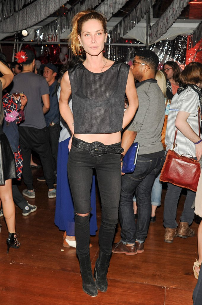 Erin Wasson at the Kate Young for Target launch event in New York. Photo: Neil Rasmus/BFAnyc.com