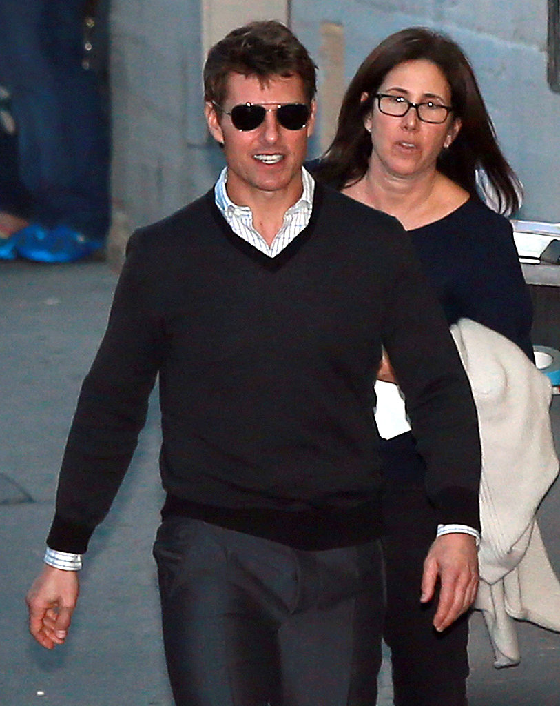 Tom Cruise made an appearance on Jimmy Kimmel Live!
