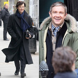 Sherlock Actors Return to Set
