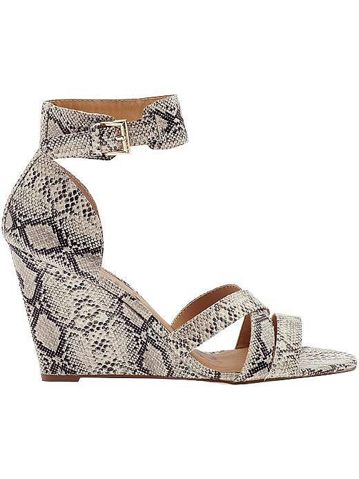 An exotic finish gives these Kelsi Dagger Fernanda sandals ($100, originally $115) a dressier feel, but the walkable wedge means you can wear them just about anywhere.
