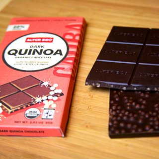 Review of Alter Eco Organic Dark Chocolate Quinoa Bar