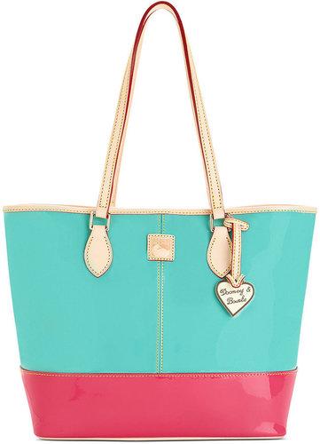 Dooney & Bourke Handbag, Patent Shopper