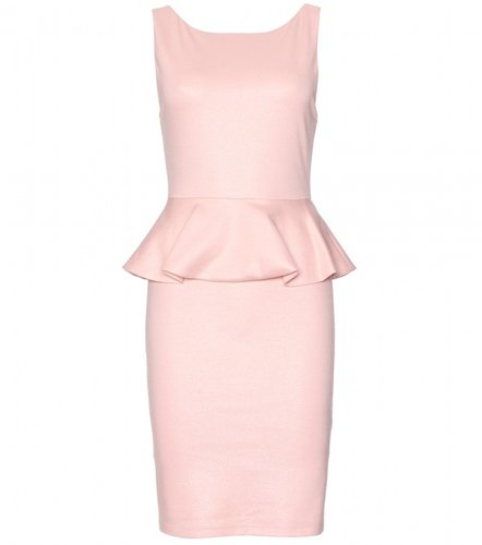 Alice + Olivia TRACEY TAILORED DRESS WITH PEPLUM