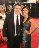Home and Away's Steven Peacocke hit the red carpet on April 7 with his beautiful girlfriend, Bridgette Sneddon.