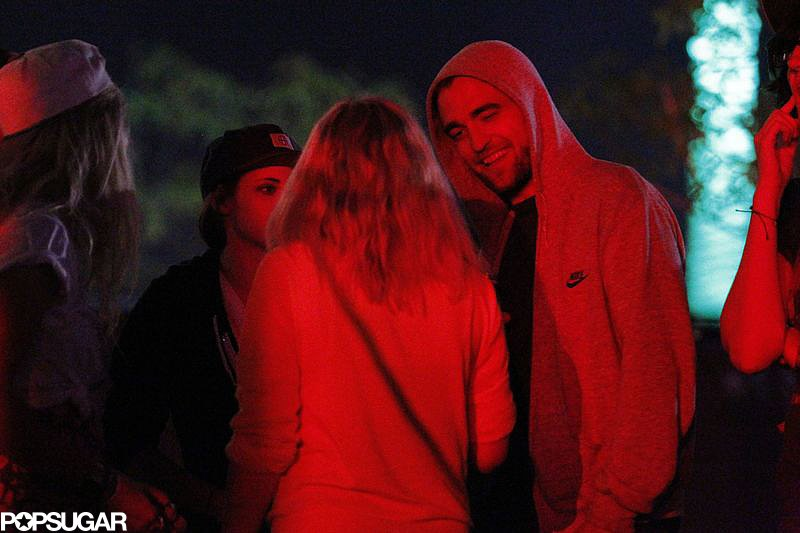 Robert Pattinson and Kristen Stewart Hang at Coachella With Katy Perry