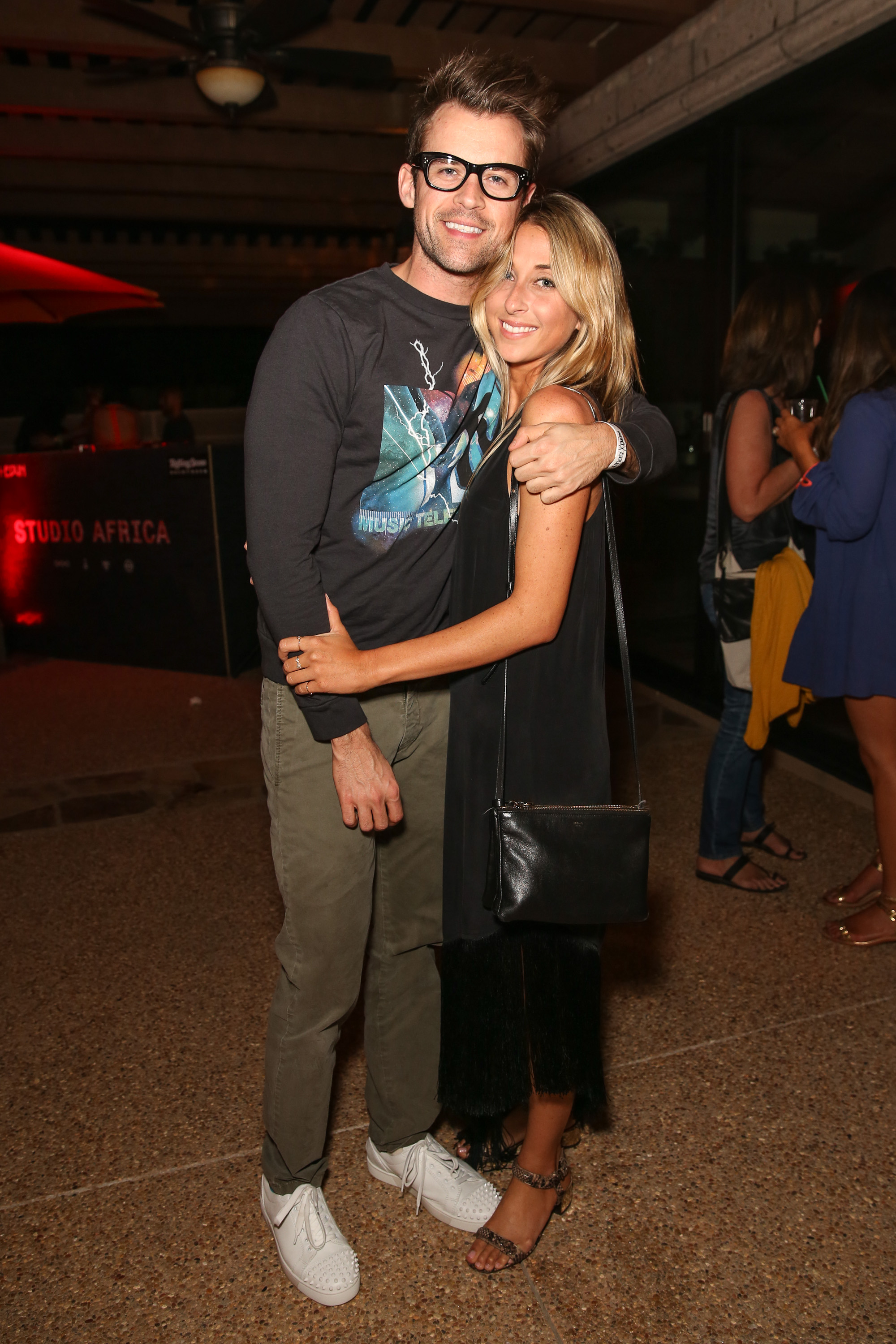 Brad Goreski and his friend Hannah Soboroff got together at the Diesel + Edun bash in 2013.