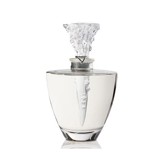 Accessorize your vanity with this Lalique Fleur de Cristal ($920) flacon. Once the fragrance runs out, you can refill it again and again.