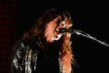Victoria Legrand of Beach House belted out tunes on Friday evening.