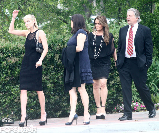 Jessica Simpson Celebrates With Eric, Ashlee, and Tina at a Wedding