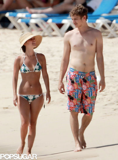 Rachel Bilson Rocks a Bikini For Beach PDA and Fun With Shirtless Hayden