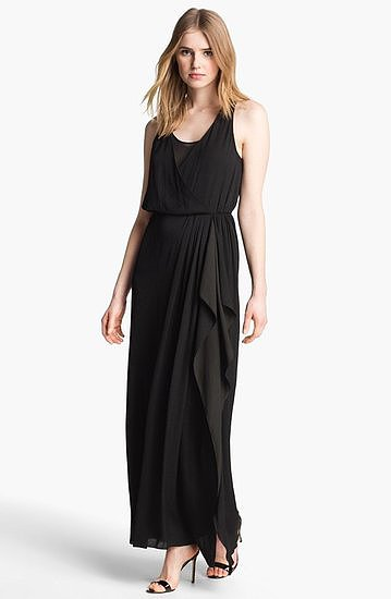 This Mcginn Willow maxi dress ($295) would be easy to dress up with gold jewels and heels for a formal wedding, or down with sandals and beachy waves for a more casual celebration.