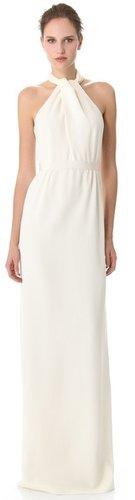 Giambattista valli Cross Front Wedding Gown