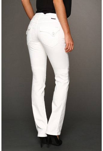 Worn Jeans - Jenny Boot in White (White) - Apparel