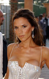 At the 2003 MTV Movie Awards, Posh Spice hit the red carpet with long brunette strands and a bronzed complexion.