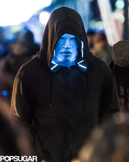 First Look: Jamie Foxx Goes Blue as Electro in The Amazing Spider-Man 2