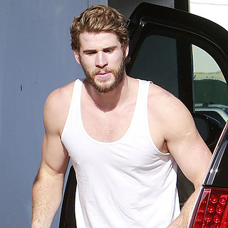 Liam Hemsworth Leaving Gym in LA