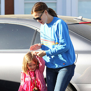 Jennifer Garner With Daughter Seraphina at Brentwood Mart