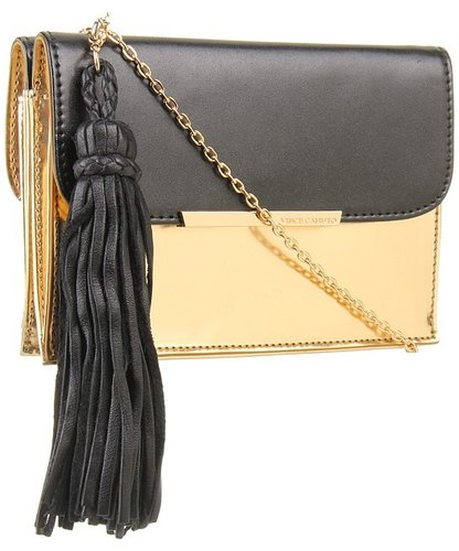Vince Camuto - Vany Cross Body (Black/Gold) - Bags and Luggage