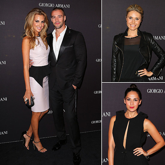 Aussie Celebs Step Out For the Opening of Giorgio Armani's Beauty Counter