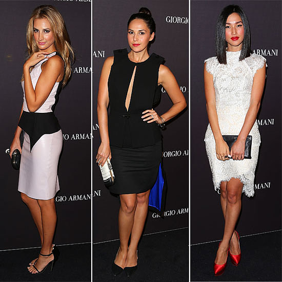 Who Was Best Dressed at Giorgio Armani's Sydney Soiree?