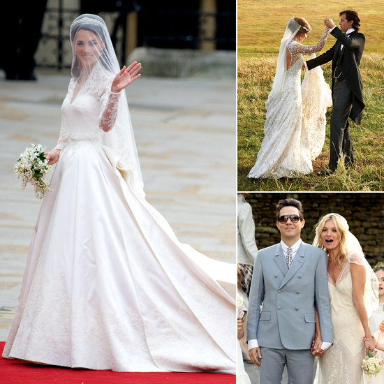Who Did the Dress? 12 Celebrity Wedding Gowns & the Designers Who Created Them