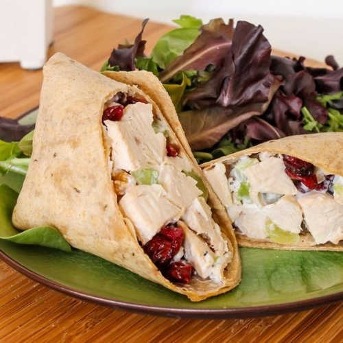 Sonoma Chicken Salad Wraps