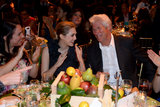 Richard Gere sat next to Elizabeth Olsen.
