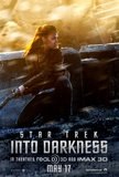 Zoe Saldana as Nyota in Star Trek Into Darkness.