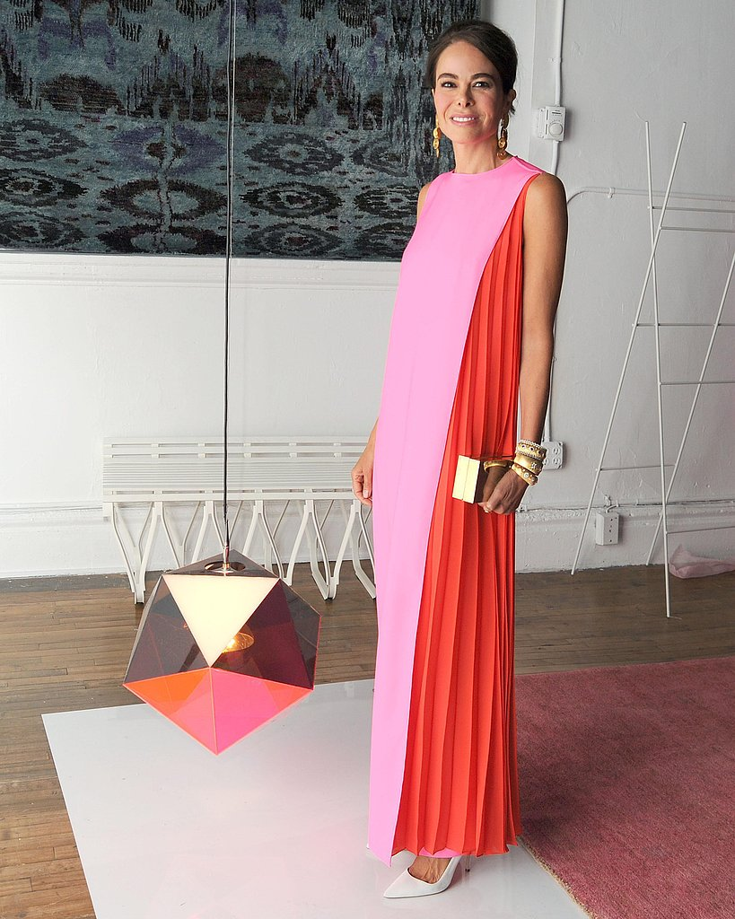 Allison Sarofim wore Dior at Art Production Fund's Gala in New York. Source: Billy Farrell/BFAnyc.com